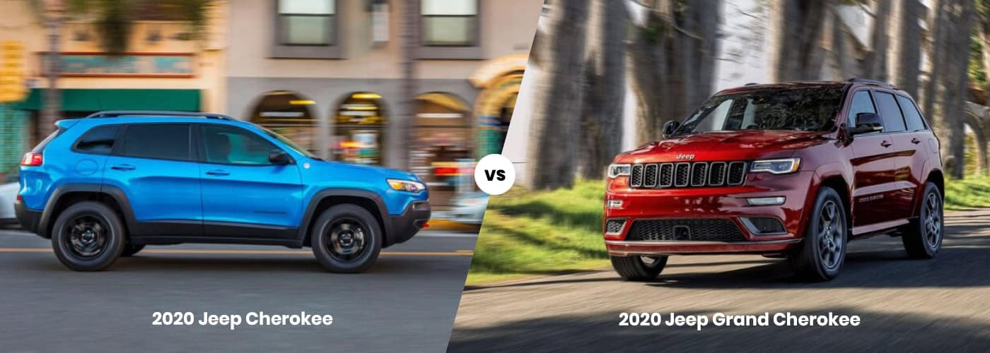 2020 Jeep Cherokee vs 2020 Jeep Grand Cherokee