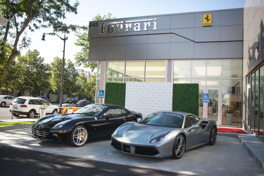 grand opening ferrari of salt lake city. Black Bedroom Furniture Sets. Home Design Ideas