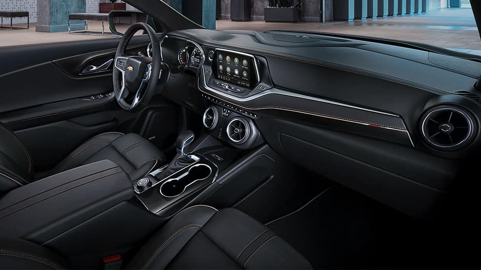 Interior Features of the New Chevrolet Blazer at Garber in Saginaw, MI