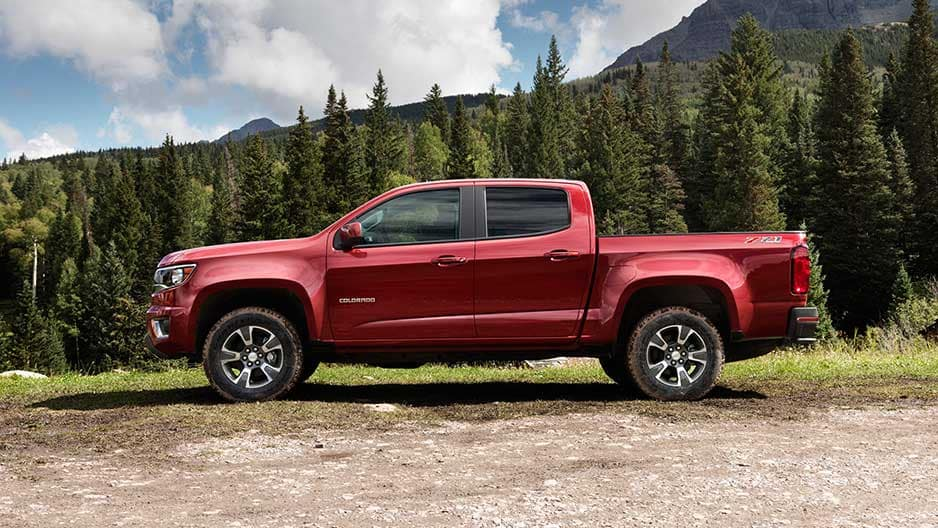 Exterior Features of the New Chevrolet Colorado at Garber in Saginaw, MI