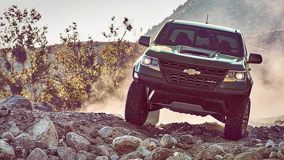Performance Features of the New Chevrolet Colorado at Garber in Saginaw, MI