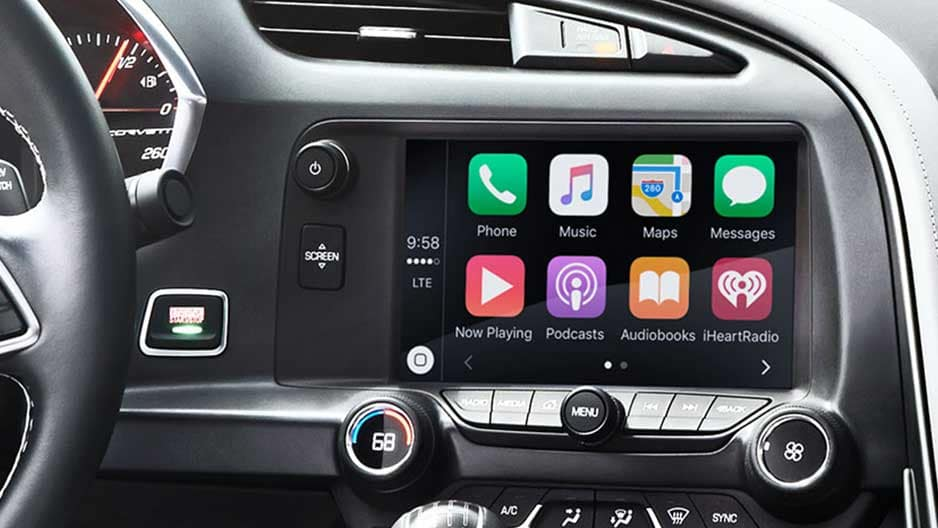 Technology Features of the New Chevrolet Corvette at Garber in Saginaw, MI