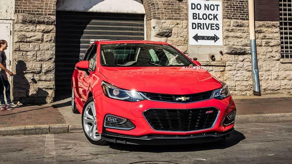 Exterior Features of the New Chevrolet Cruze at Garber in Saginaw, MI