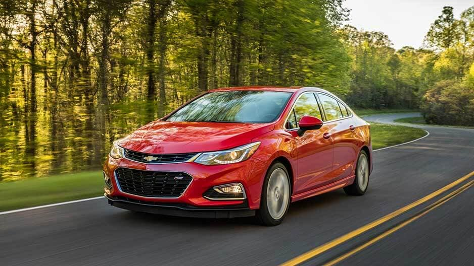 Performance Features of the New Chevrolet Cruze at Garber in Saginaw, MI