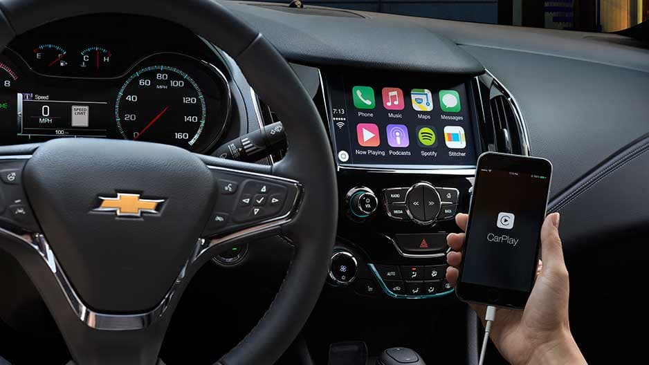 Technology Features of the New Chevrolet Cruze at Garber in Saginaw, MI
