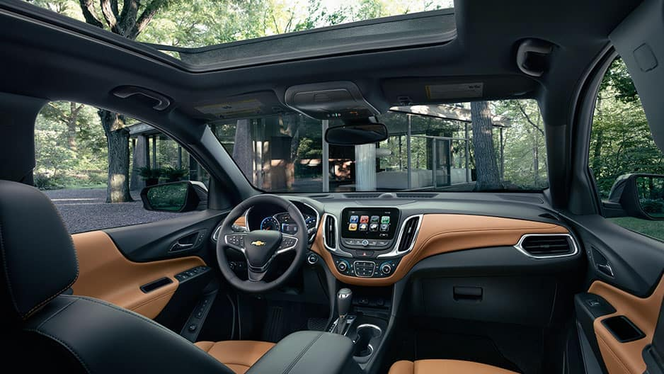 Interior Features of the New Chevrolet Equinox at Garber in Saginaw, MI