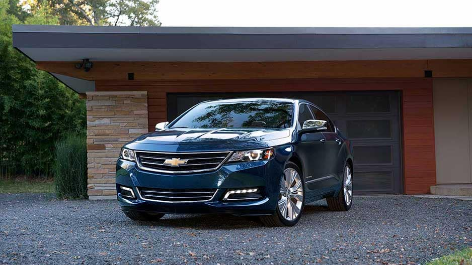 Exterior Features of the New Chevrolet Impala at Garber in Saginaw, MI