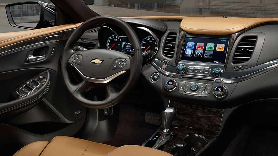 Interior Features of the New Chevrolet Impala at Garber in Saginaw, MI