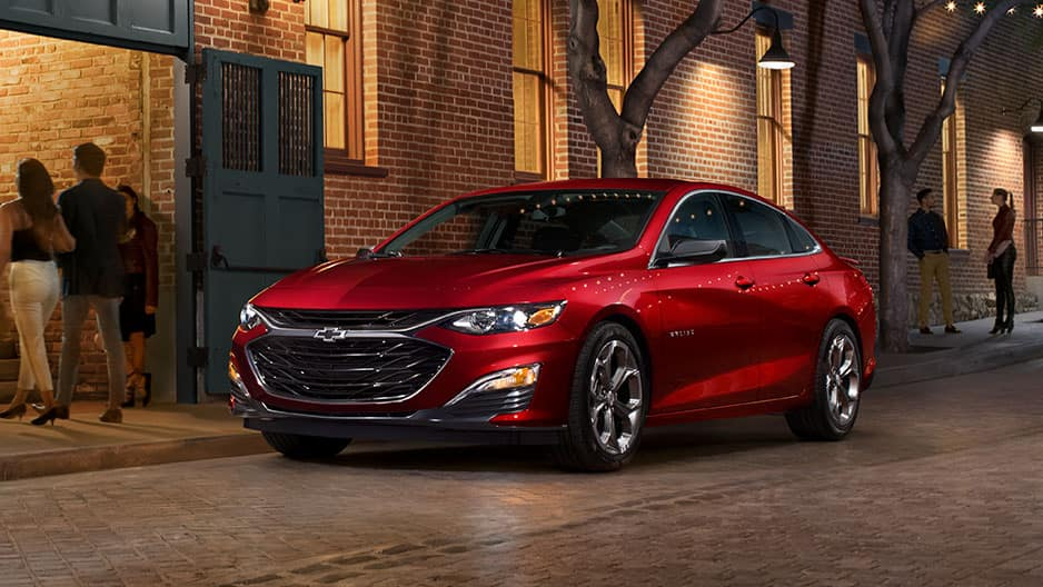 Exterior Features of the New Chevrolet Malibu at Garber in Saginaw, MI