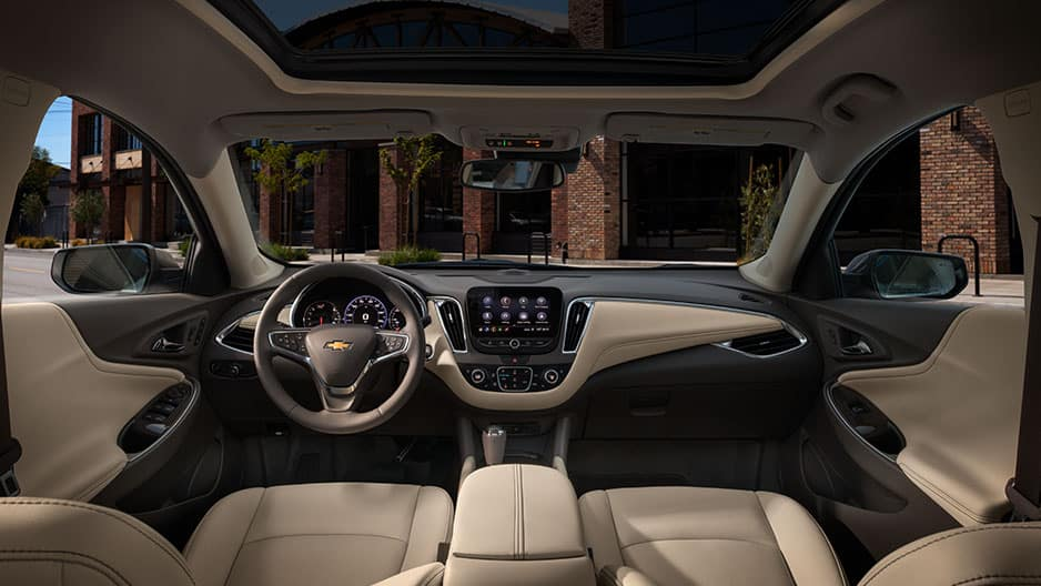 Interior Features of the New Chevrolet Malibu at Garber in Saginaw, MI
