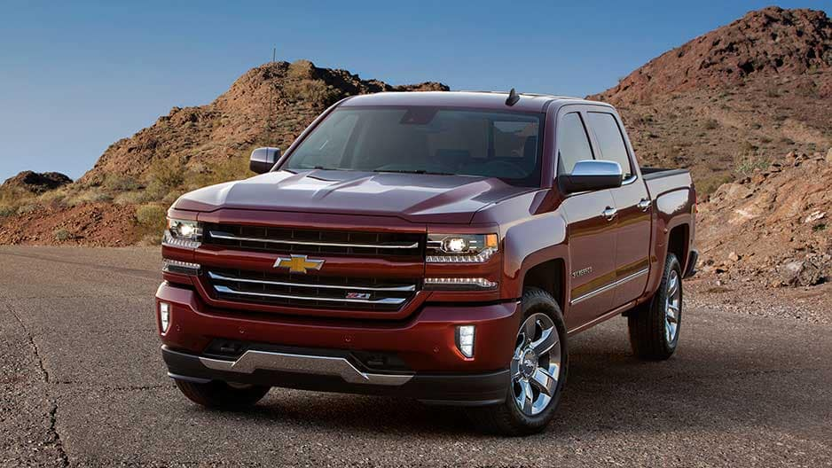 Exterior Features of the New Chevrolet Silverado at Garber in Saginaw, MI