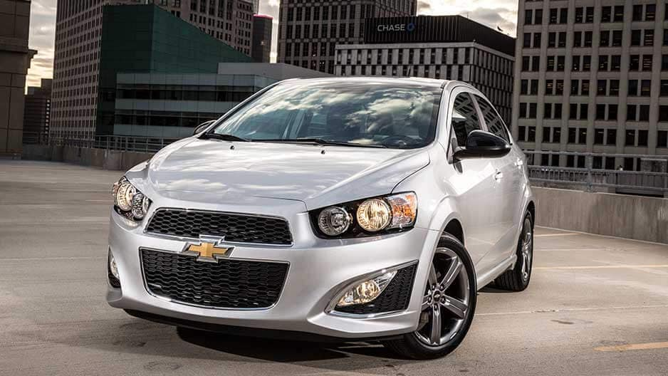 Exterior Features of the New Chevrolet Sonic at Garber in Saginaw, MI