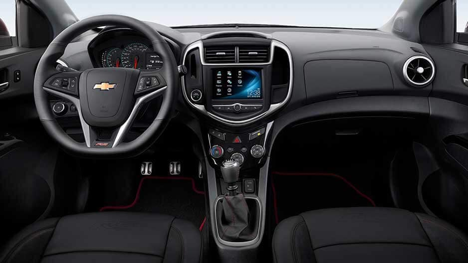 Interior Features of the New Chevrolet Sonic at Garber in Saginaw, MI