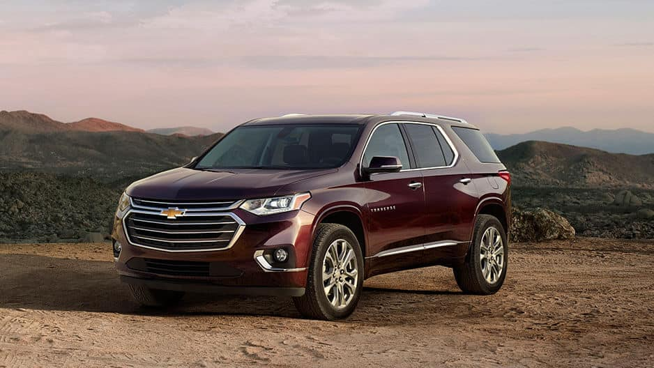 Exterior Features of the New Chevrolet Traverse at Garber in Saginaw, MI