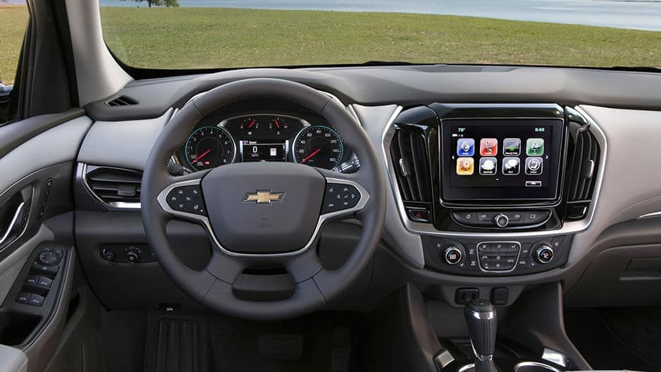 Technology Features of the New Chevrolet Traverse at Garber in Saginaw, MI