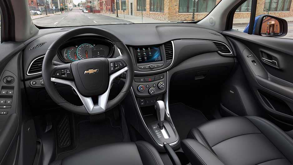 Interior Features of the New Chevrolet Trax at Garber in Saginaw, MI
