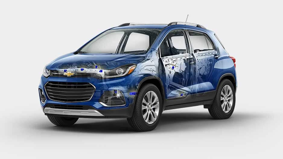 Safety Features of the New Chevrolet Trax at Garber in Saginaw, MI