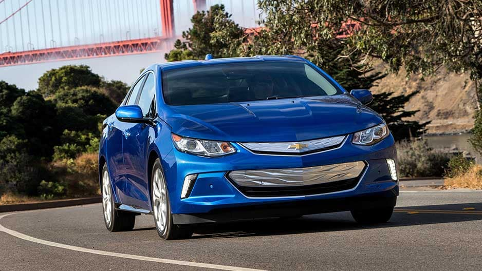 Exterior Features of the New Chevrolet Volt at Garber in Saginaw, MI