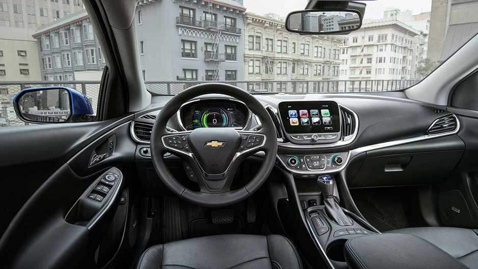 Interior Features of the New Chevrolet Volt at Garber in Saginaw, MI