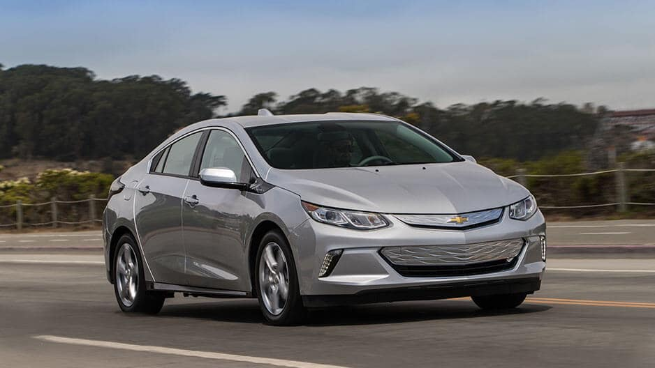 Performance Features of the New Chevrolet Volt at Garber in Saginaw, MI