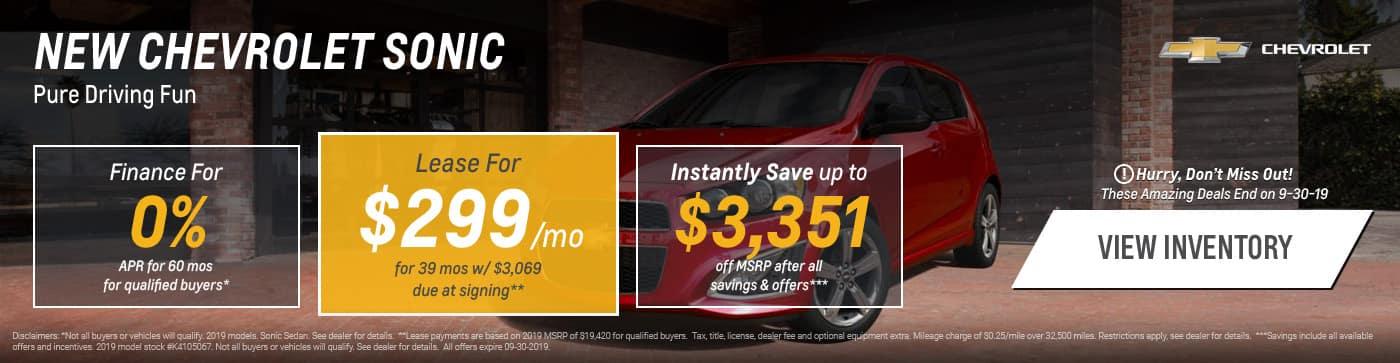 Chevrolet Lease Finance Specials Garber Chevrolet In