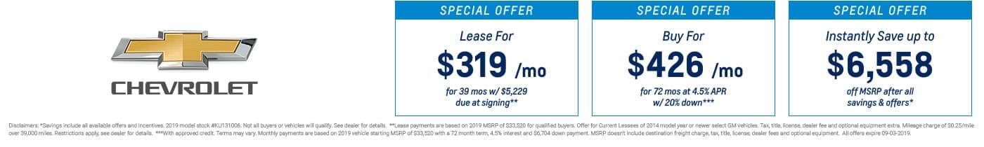 New Chevrolet Impala® For Sale in Midland | Garber Chevrolet