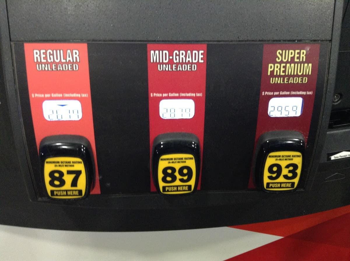 Fuel Grades Explained