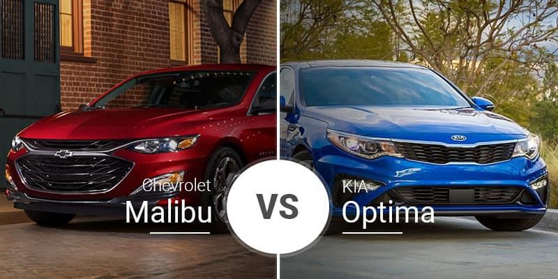 Chevy Malibu Vs  Kia Optima: Sedan Shootout