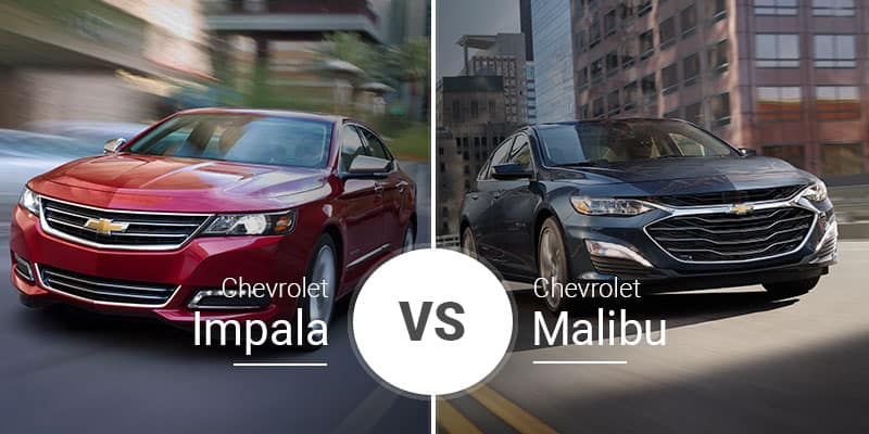 Chevy Impala Vs  Chevy Malibu: Big Bro Vs  Little Bro  Which