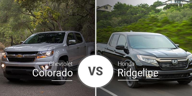 Chevy Colorado Vs Honda Ridgeline Mighty Midsize Pickups