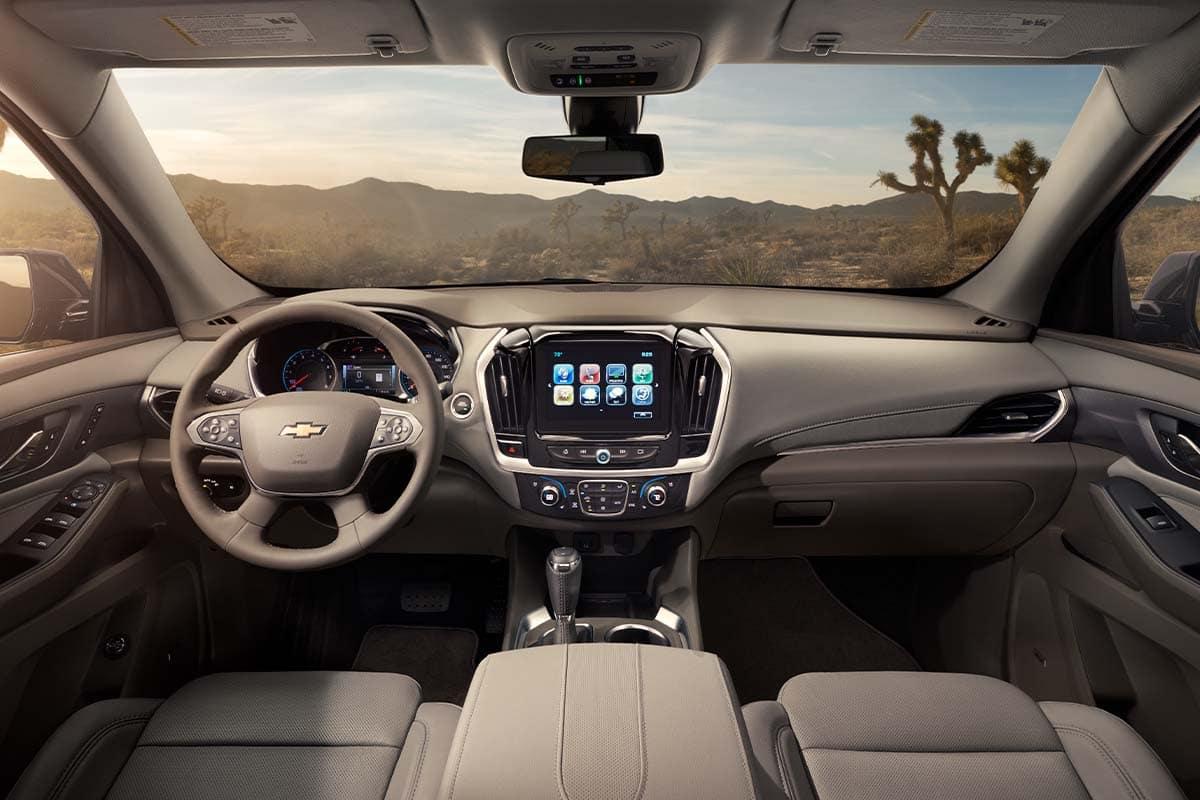 Buick Enclave Interior >> Chevy Traverse Vs Buick Enclave