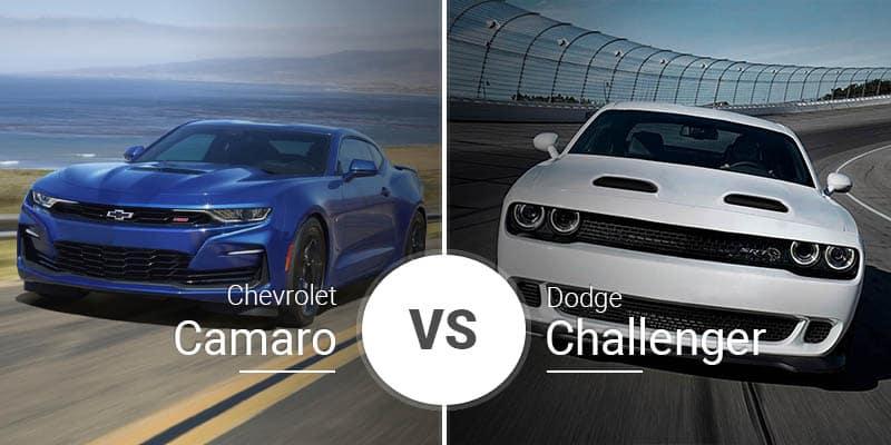 Chevy Camaro Vs  Dodge Challenger - Garber Chevrolet