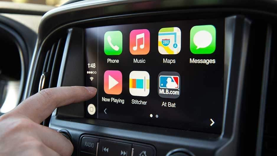 Technology Features of the New Chevrolet Colorado at Garber in Saginaw, MI