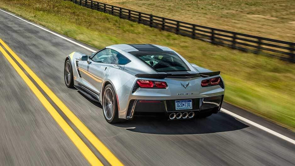 Exterior Features of the New Chevrolet Corvette at Garber in Saginaw, MI