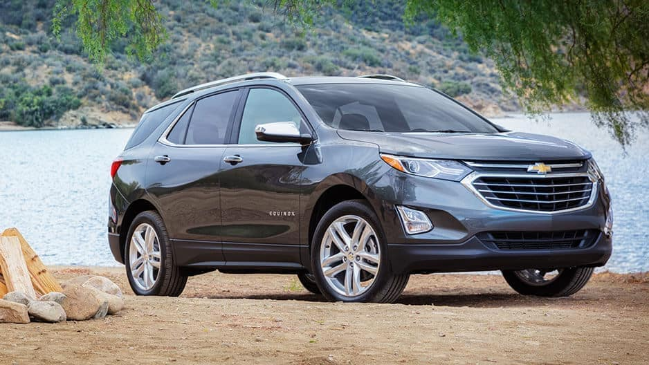Exterior Features of the New Chevrolet Equinox at Garber in Saginaw, MI