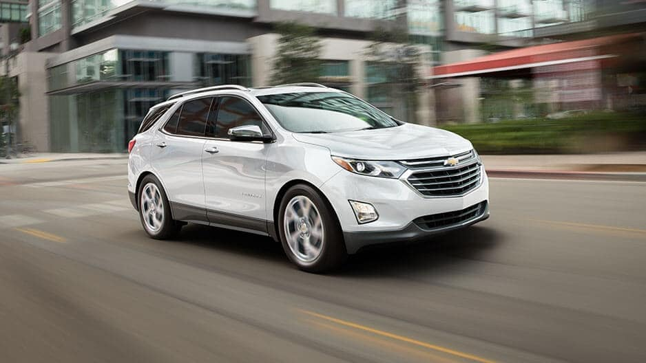 Performance Features of the New Chevrolet Equinox at Garber in Saginaw, MI