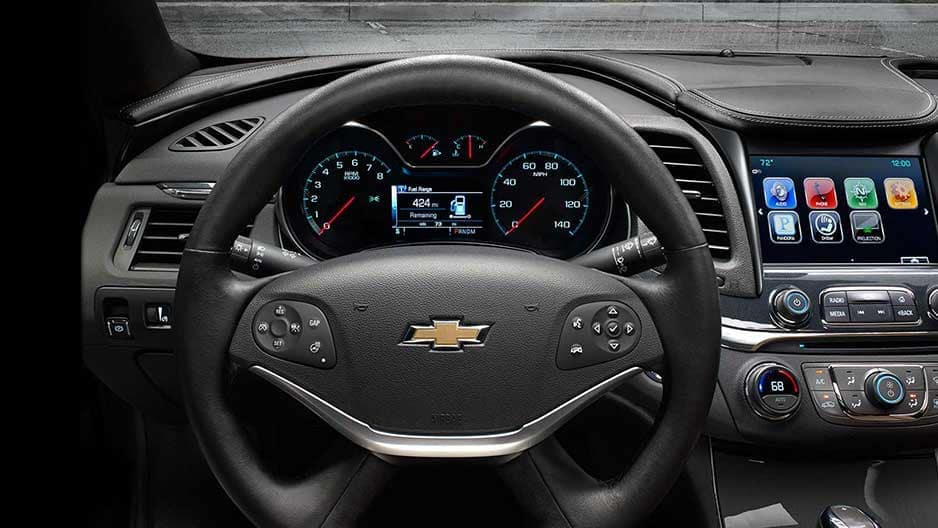 Safety Features of the New Chevrolet Impala at Garber in Saginaw, MI
