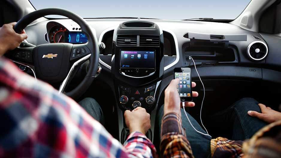 Technology Features of the New Chevrolet Sonic at Garber in Saginaw, MI