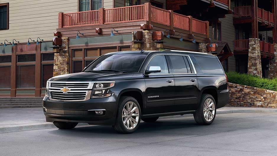 Exterior Features of the New Chevrolet Suburban at Garber in Saginaw, MI