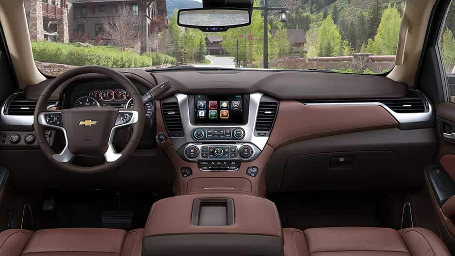 Interior Features of the New Chevrolet Suburban at Garber in Saginaw, MI