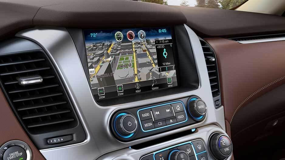 Technology Features of the New Chevrolet Suburban at Garber in Saginaw, MI