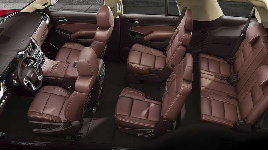 Interior Features of the New Chevrolet Tahoe at Garber in Saginaw, MI
