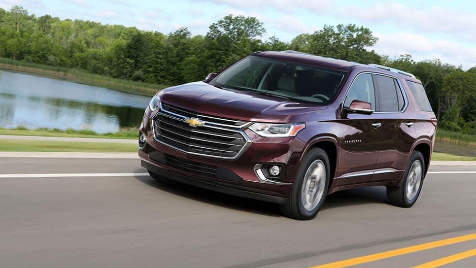 Performance Features of the New Chevrolet Traverse at Garber in Saginaw, MI