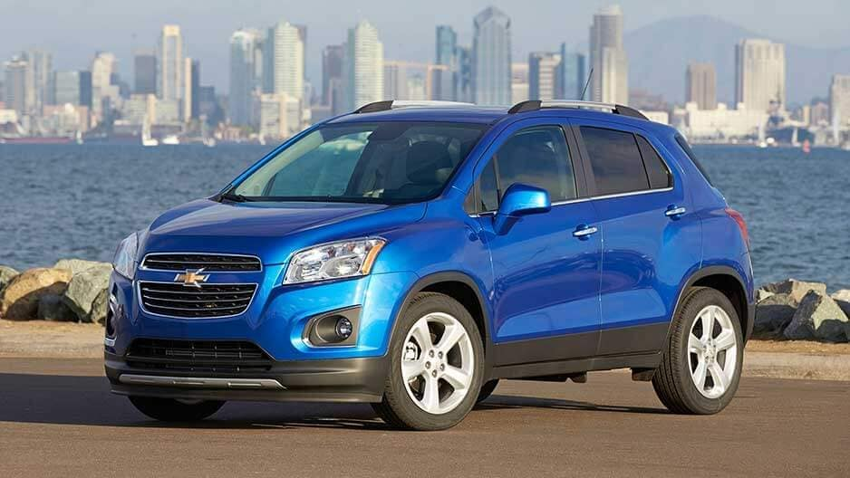 Exterior Features of the New Chevrolet Trax at Garber in Saginaw, MI