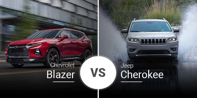 2020 Chevrolet Blazer Vs. 2020 Jeep Cherokee