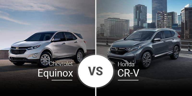 2020 Chevrolet Equinox Vs. 2020 Honda CR-V