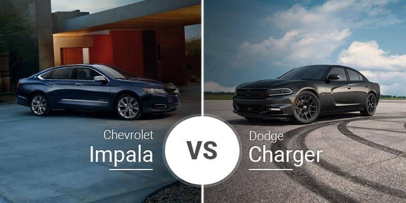 Chevrolet Impala Vs. Dodge Charger
