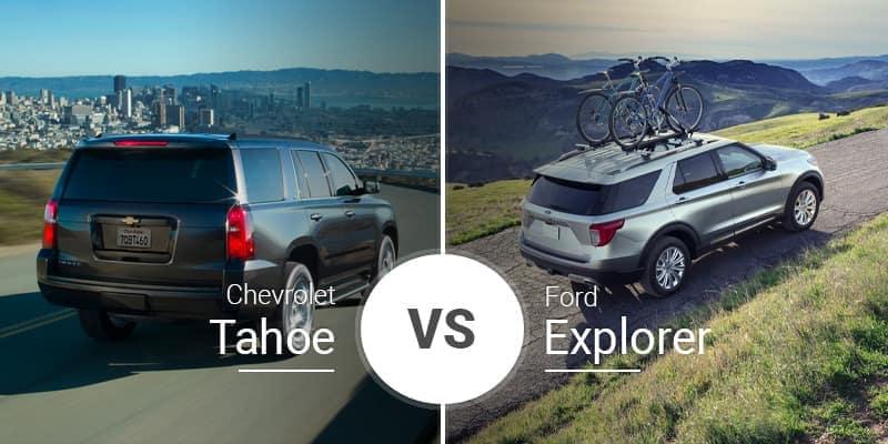 Chevrolet Tahoe Vs. Ford Explorer