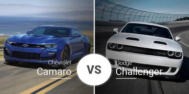 Chevy Camaro Vs. Dodge Challenger