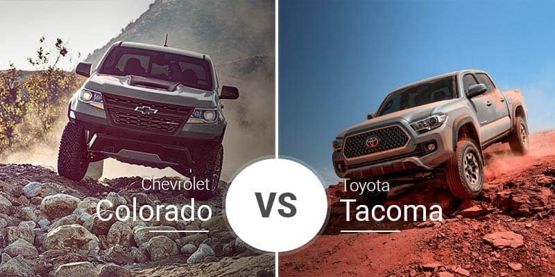 Chevy Colorado Vs Toyota Tacoma